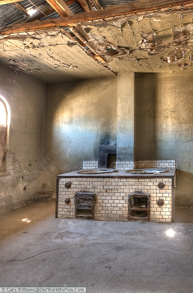 The kitchens, Kolmanskop, Namibia