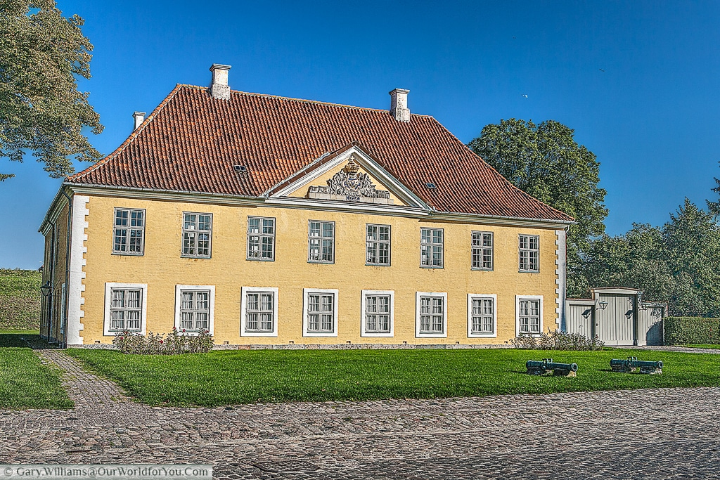 The Commanders House at the Kastellet, or the old fort, Copenhagen, Denmark