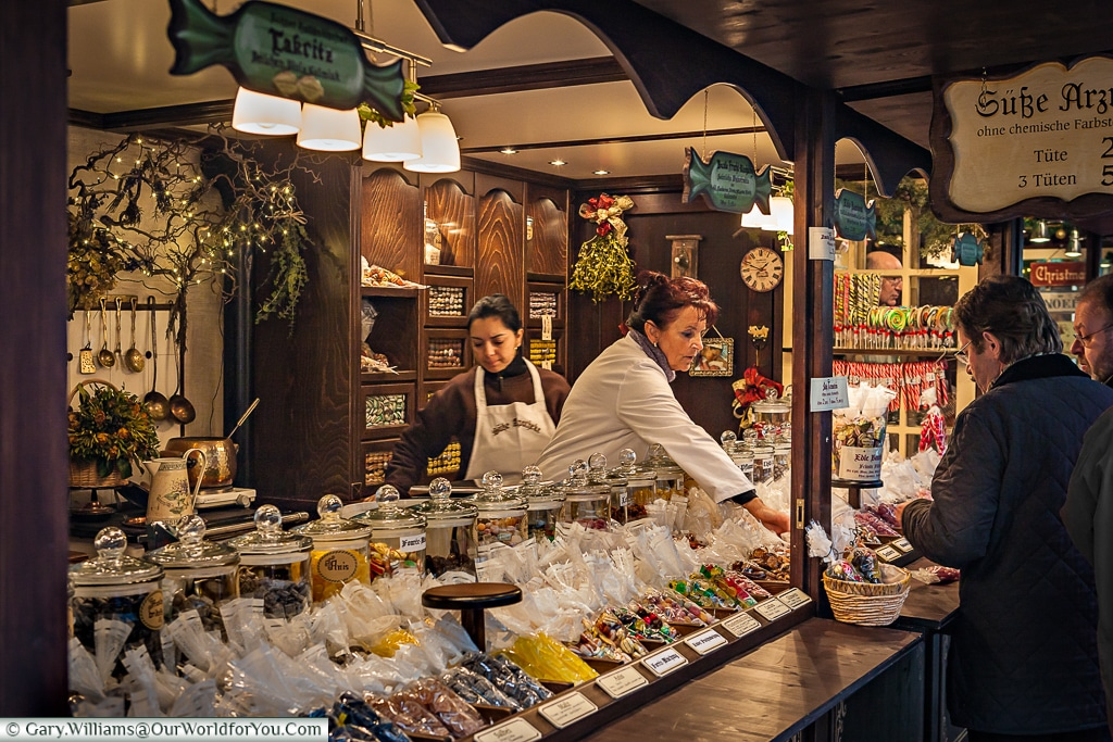 So much choose at the Christmas Markets, Cologne, Germany