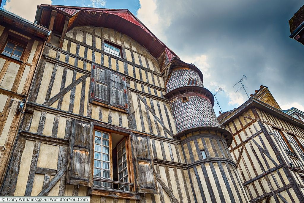 The Goldsmith's House, Troyes, Champagne, Grand Est, France