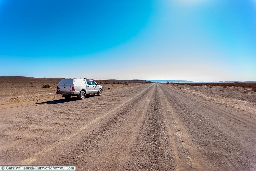The Long road, Fish River Canyon, Namibia