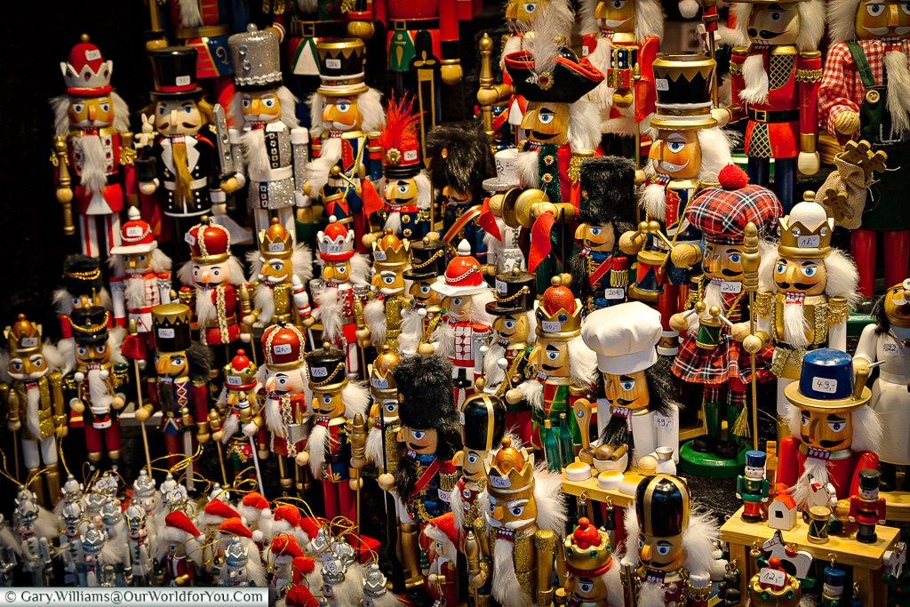 Toy soldiers and more at the Christmas Market, Cologne, Germany