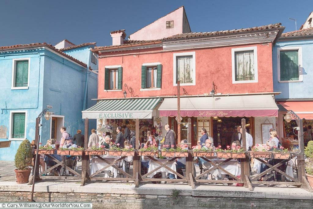 al Vecio Pipa, Burano, Venice, Italy