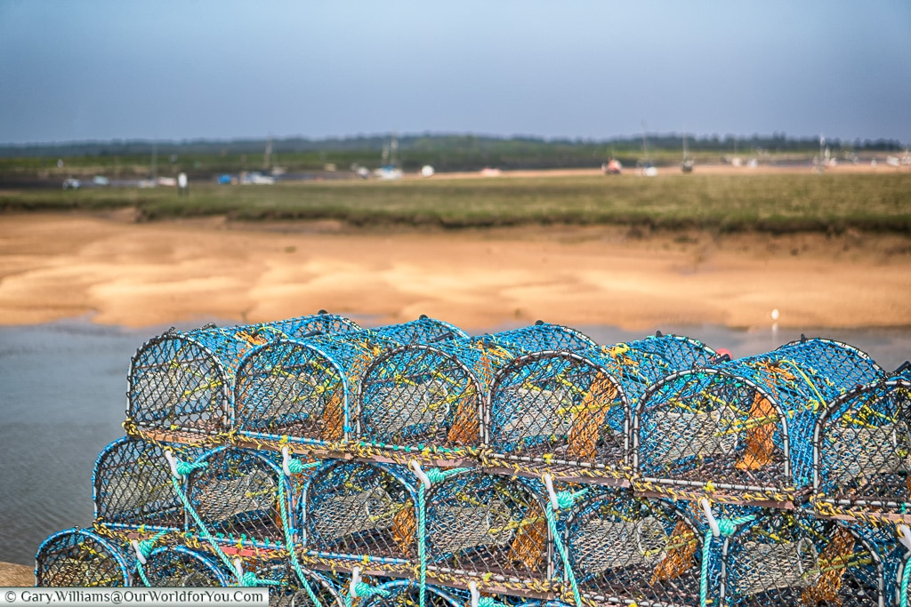 Crabs or Lobsters?, Norfolk, England, Great Britain