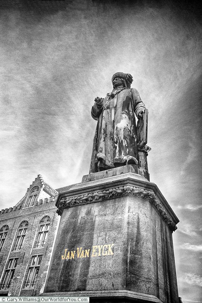 Jan Van Eyck, Bruges, Belgium