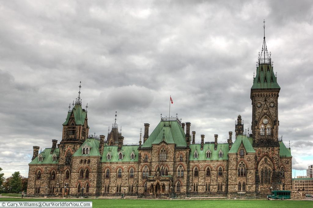 Parliament Hill, Ottowa, Ontario, Canada