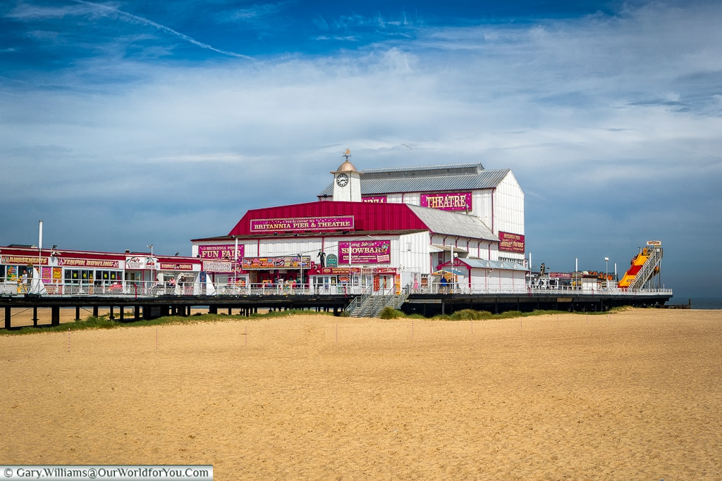 The Britannia Pier,Great Yarmouth, Norfolk, England, Great Britain