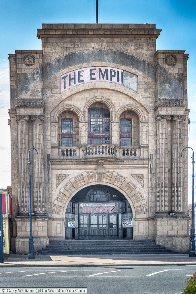 The Empire Theatre,Great Yarmouth, Norfolk, England, Great Britain