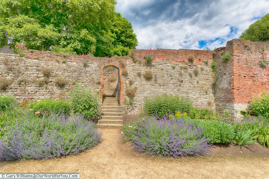 The Walled Garden, Eltham Palace, London, England, UK