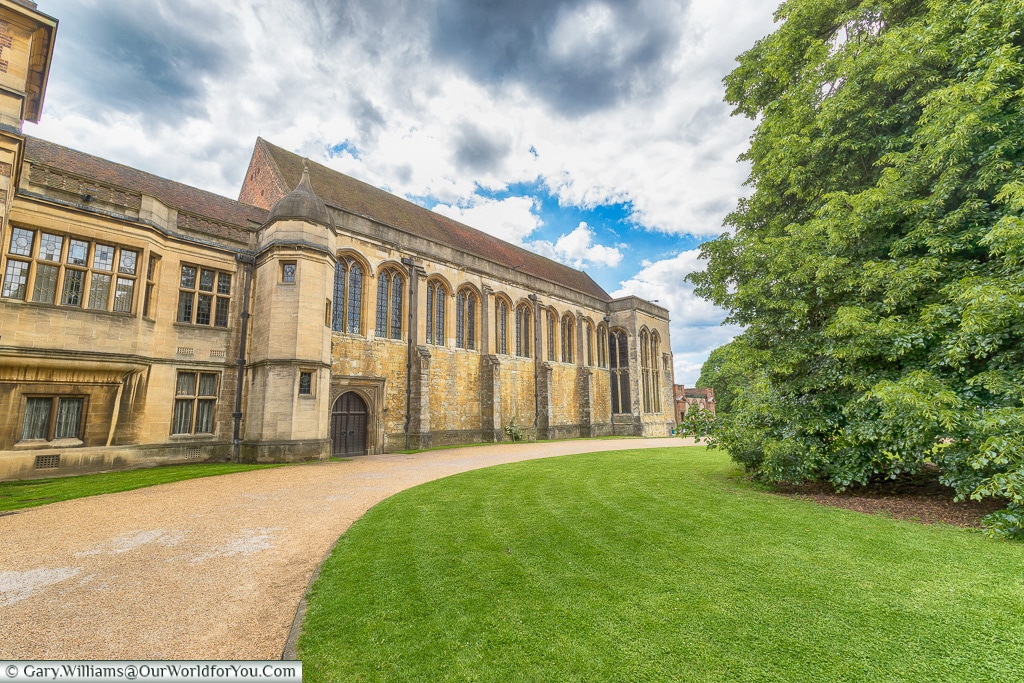 The exterior of the Great Hall, Eltham Palace, London, England, UK
