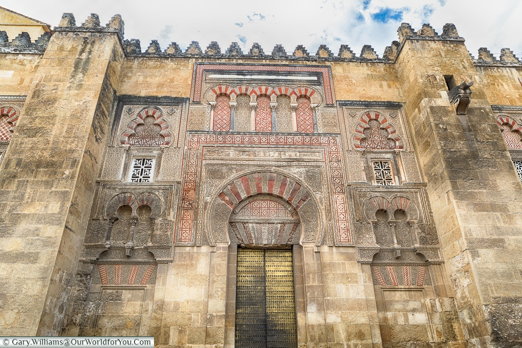 Another Entrance to the Mezquita,Mosque–Cathedral, Córdoba, Spain