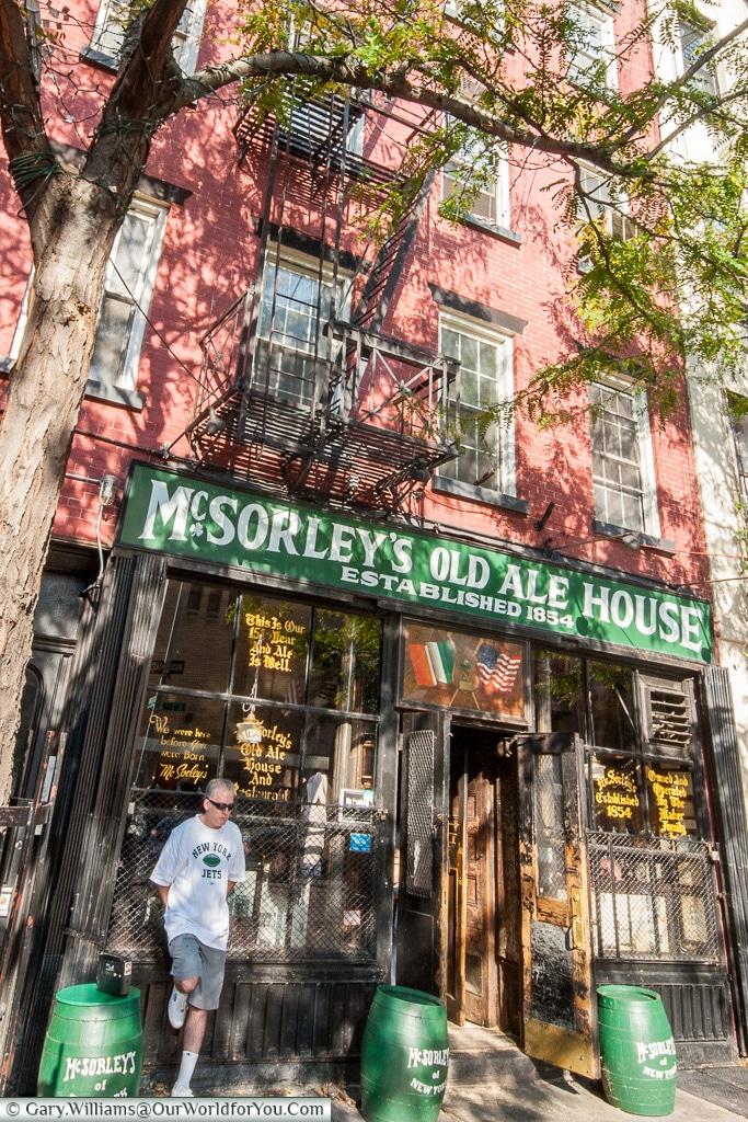McSoreleys Old Ale House, Manhattan, New York, USA