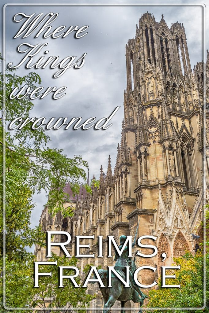 The Catherdral, Reims, Champagne Region, France