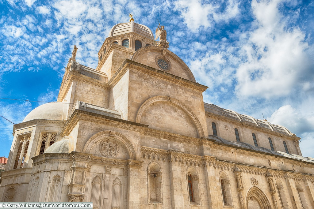 The Cathedral of St James in Šibenik, Croatia