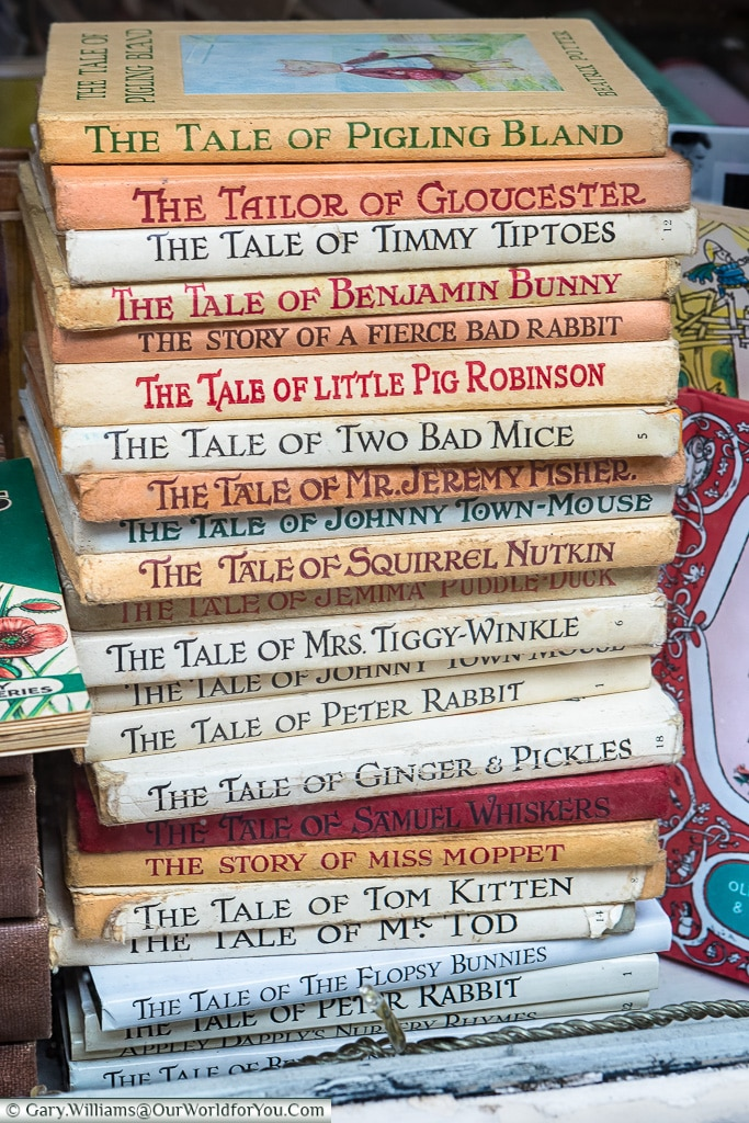 A collection of Childrens Tales, Norwich, Norfolk, England