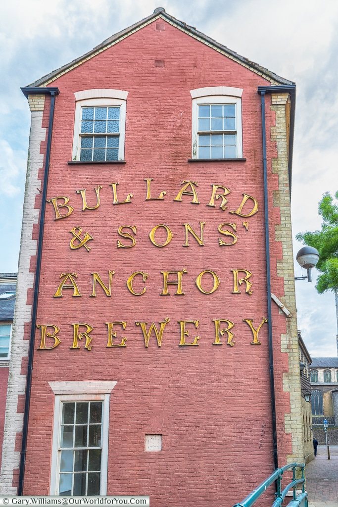 Bullard and Sons Anchor Brewery, Norwich, Norfolk, England