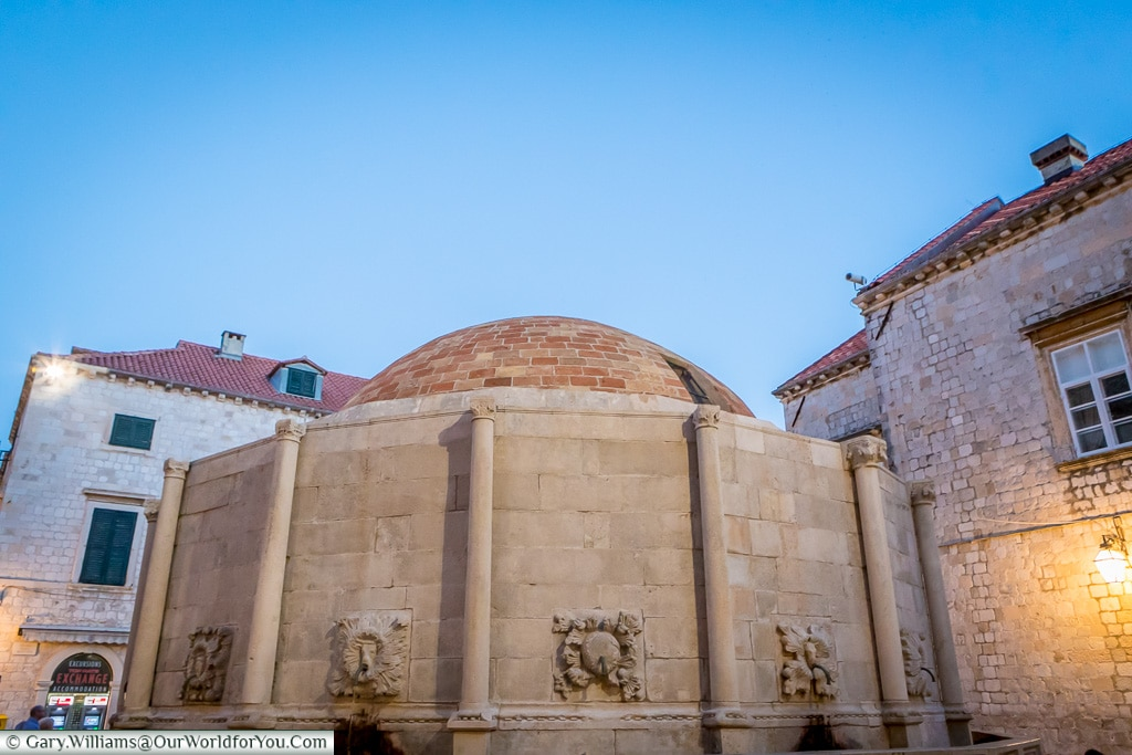Large Onofrio's Fountain, Dubrovnik, Croatia
