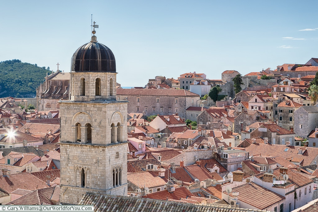 Over the rooftops, Dubrovnik, Croatia