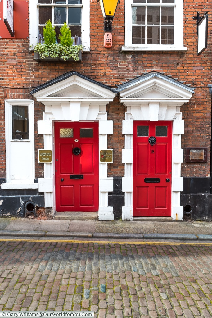The Red Doors, Norwich, Norfolk, England
