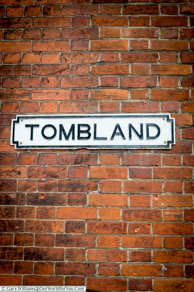 Tombland Sign, Norwich, Norfolk, England