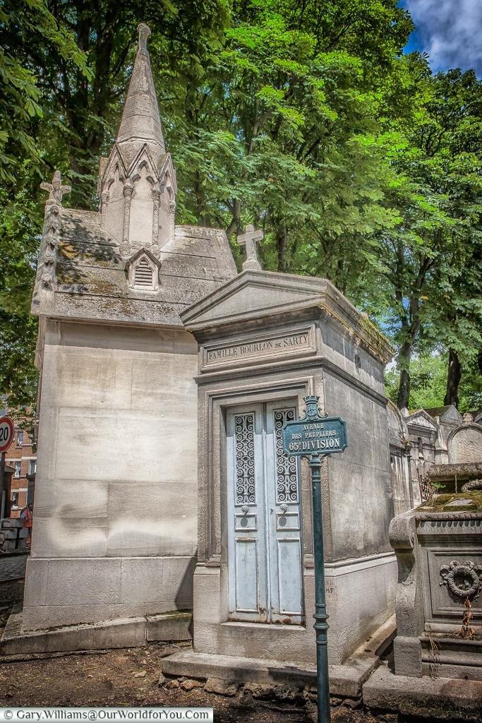 At the Entrance, Père Lachaise Cemetery, Paris, France