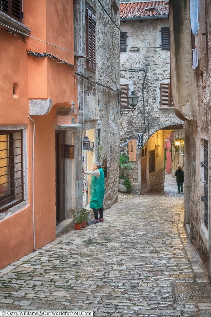 Catching up, Rovinj, Croatia