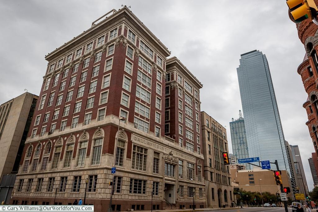 Dallas County Criminal Court Building, Texas, America, USA