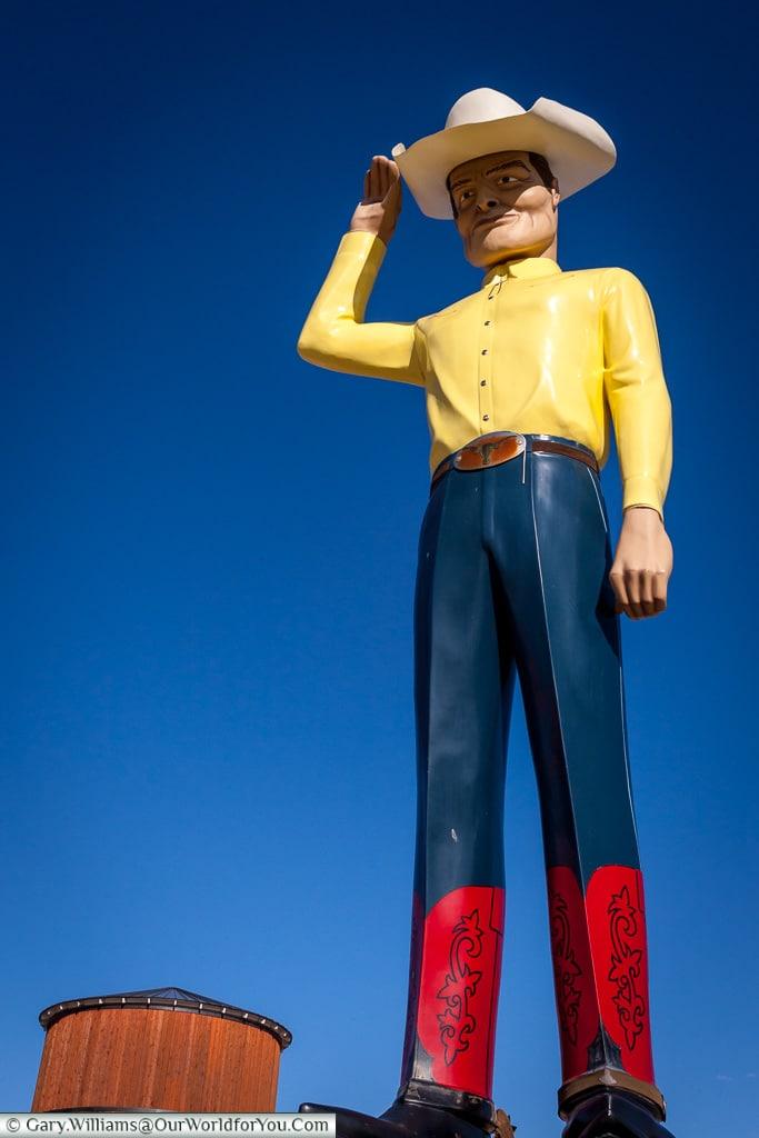 Muffler Man, Amarillo, Texas, America, USA