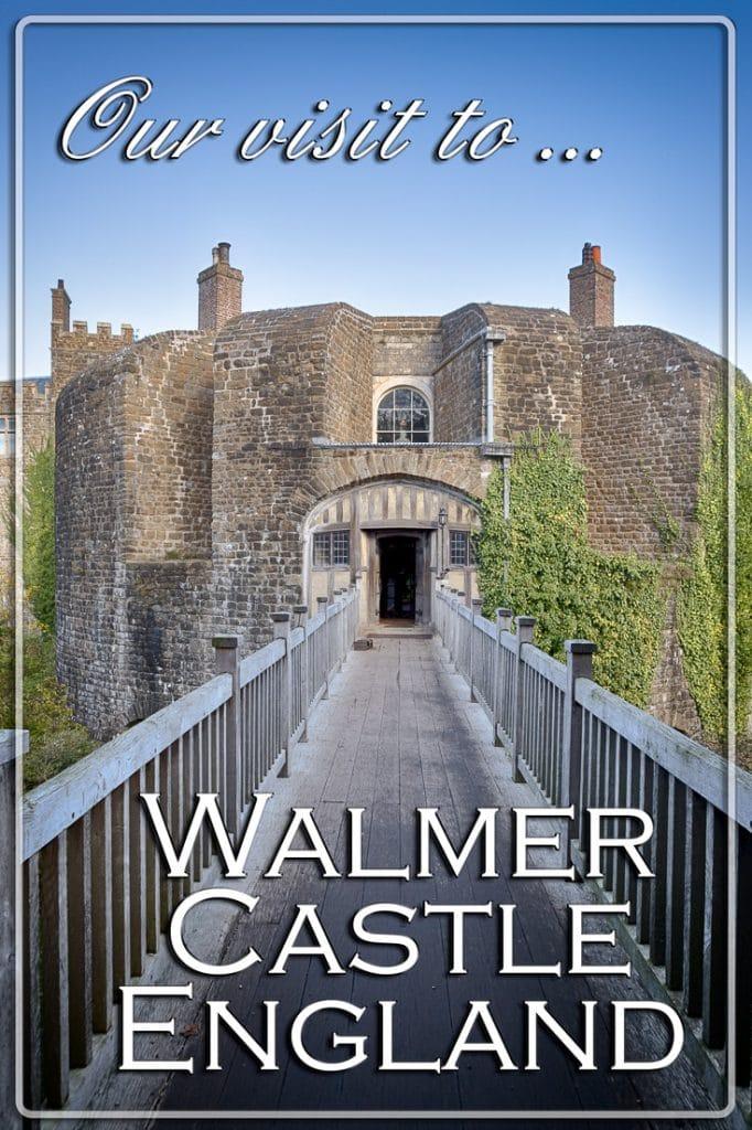 Our Visit to Walmer Castle, Walmer, Kent, England, UK