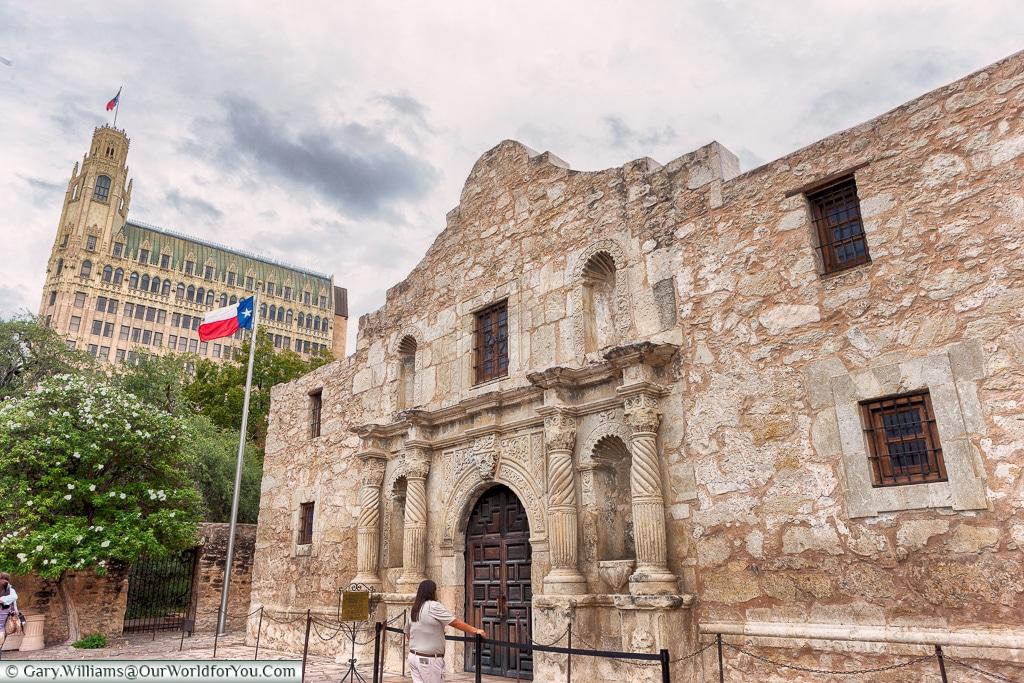 The Alamo, San Antonio, Texas, America, USA