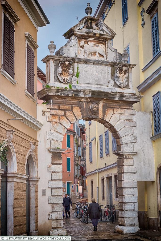 The Balbi Arch, Rovinj, Croatia