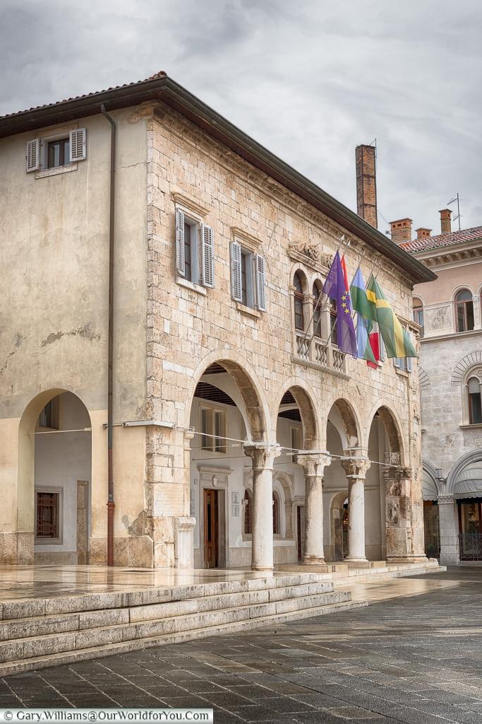 The Communal Palace of Pula,Pula, Croatia