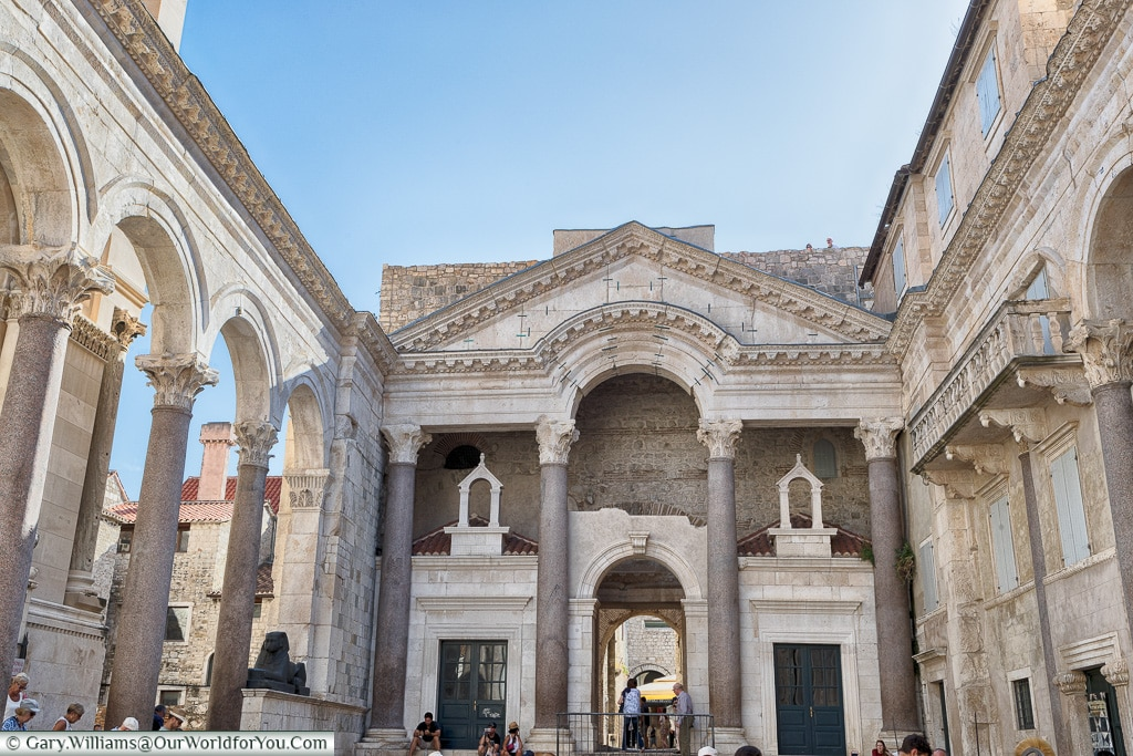 The Roman Peristyle, Split, Croatia