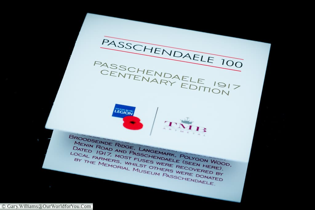 Our Passchendaele Poppies - Our World for You