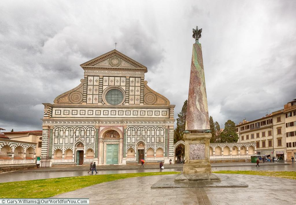 Basilica of Santa Maria Novella, Florence, Tuscany, Italy