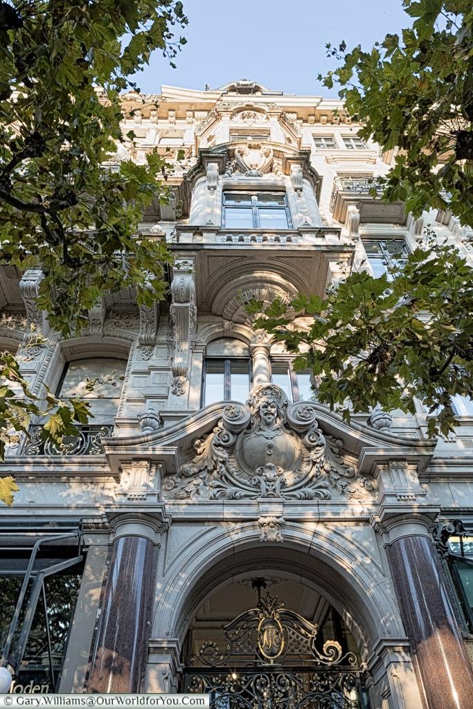 Classic buildings, Baden-Baden, Germany
