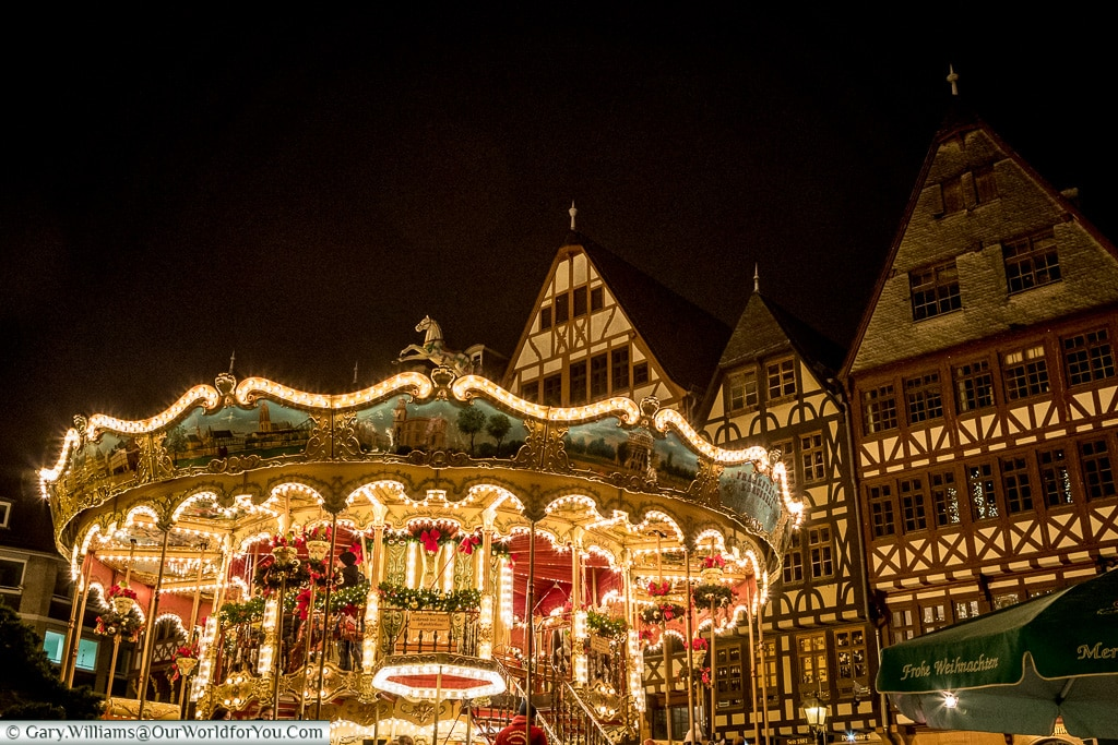 One of the carousels, Frankfurt, Germany