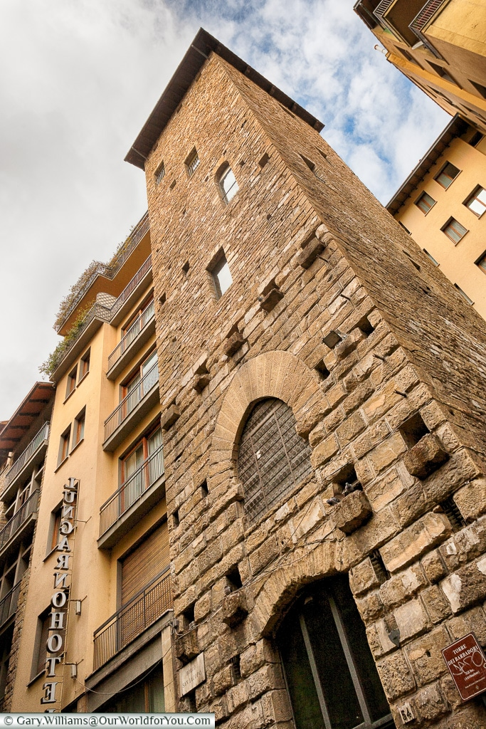 Tower of Barbadori, Florence, Tuscany, Italy