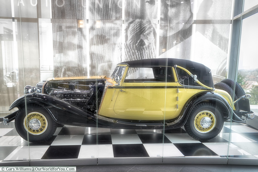 The Horch 12 Type 670 Sports Convertible 1931, Audi Museum, Ingolstadt, Germany