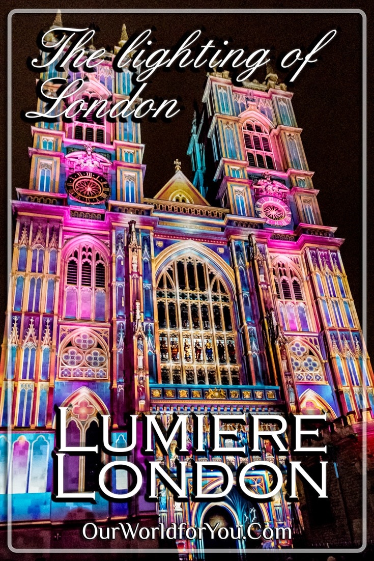 The Lighting of London - Lumiere London