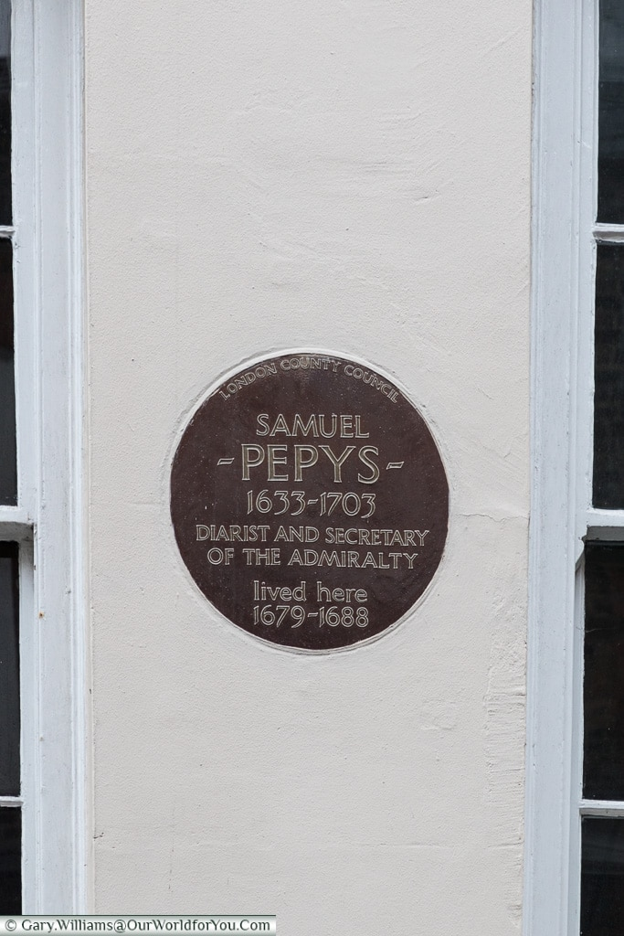 Not all blue, Blue Plaques, London, England