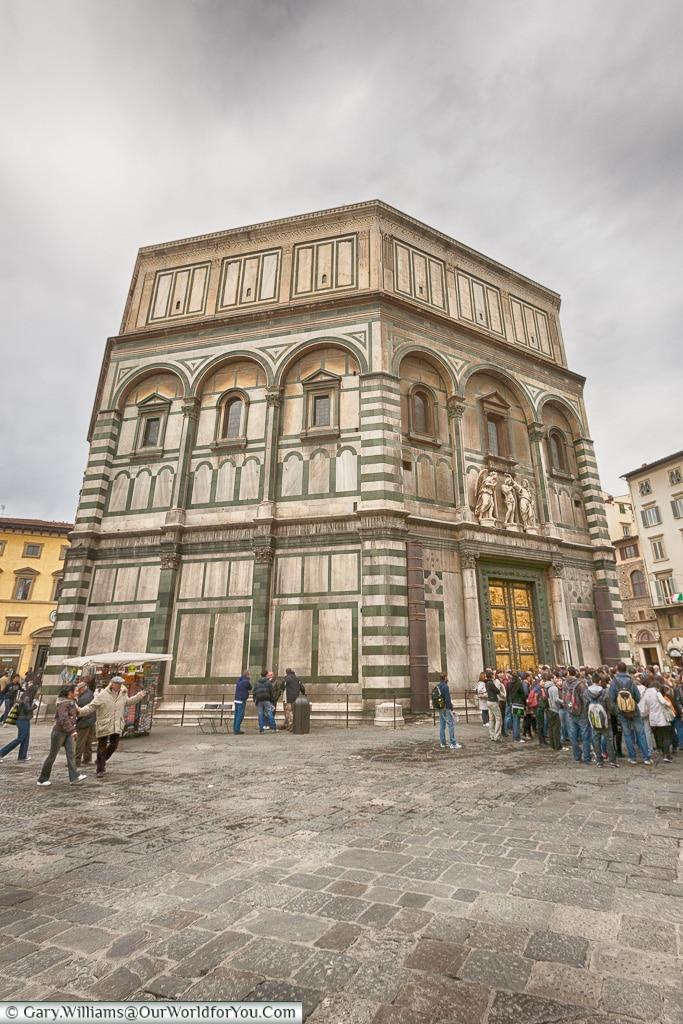 The Baptistery of Saint John, Florence, Tuscany, Italy