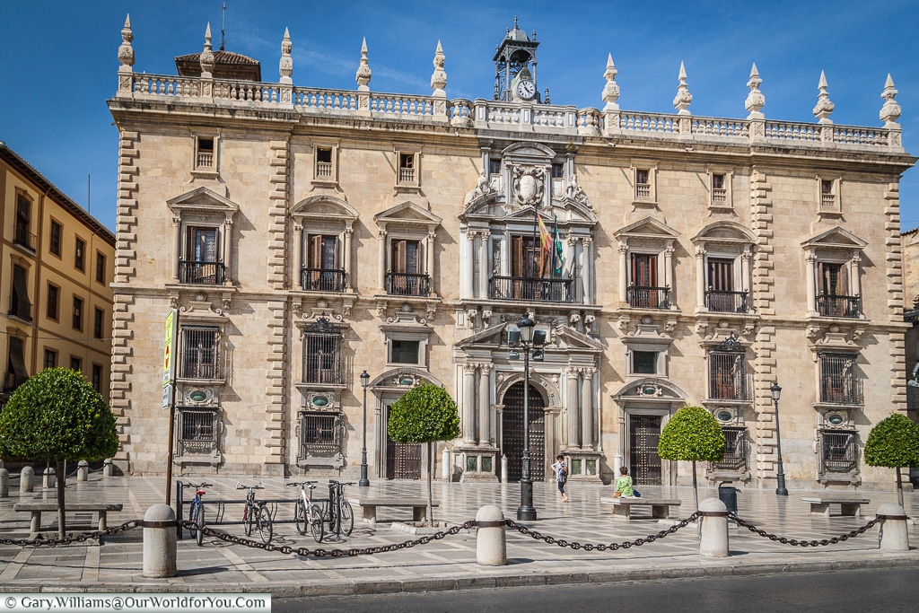The High Court of Andalusia, Granada, Spain