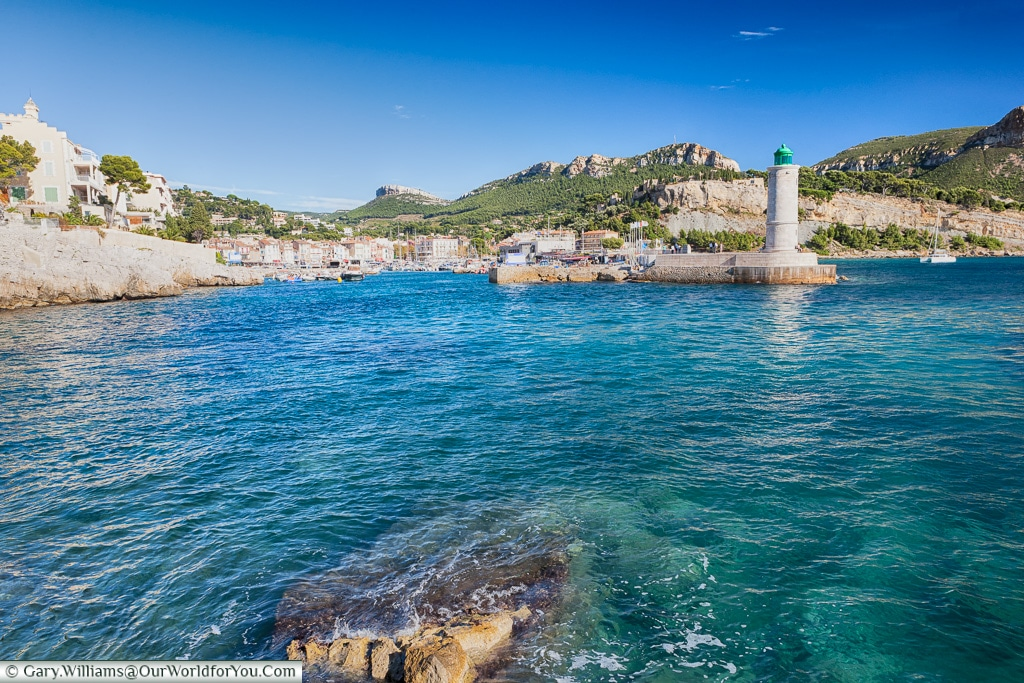 The harbour at  Cassis, Provence, France
