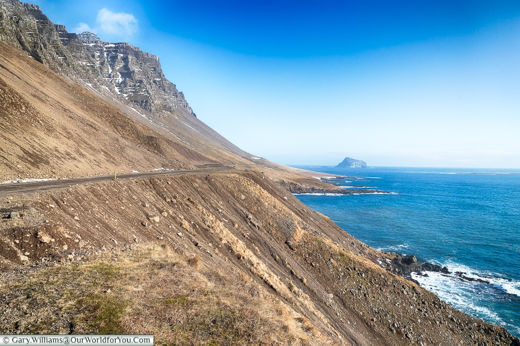 Route 955 in Eastern Iceland