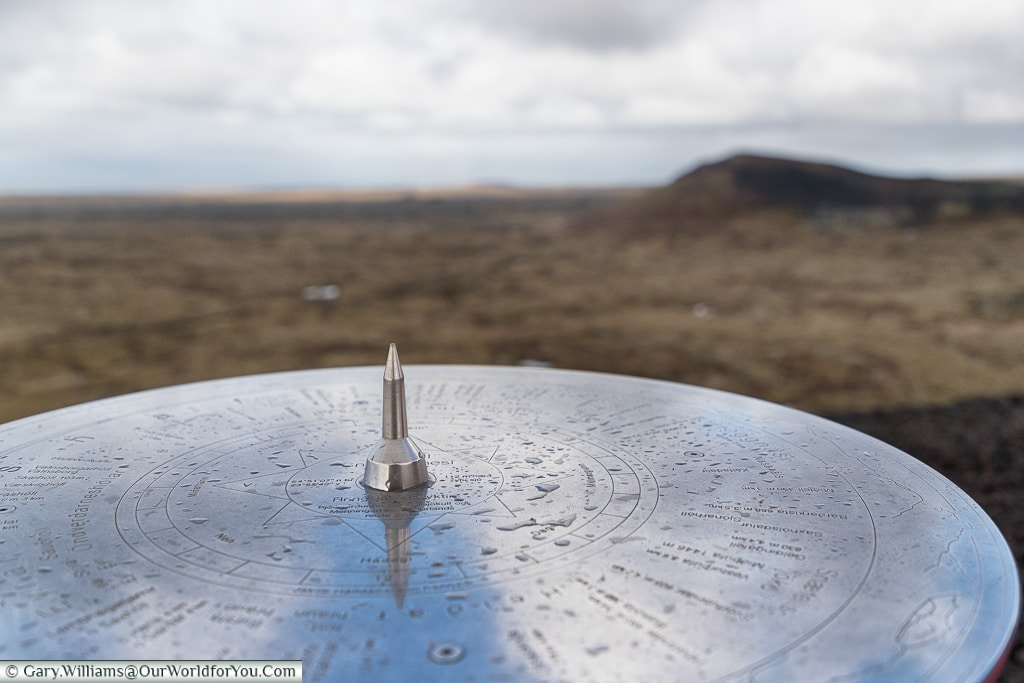 All points from Saxholl - Saxhólar Crater, Iceland