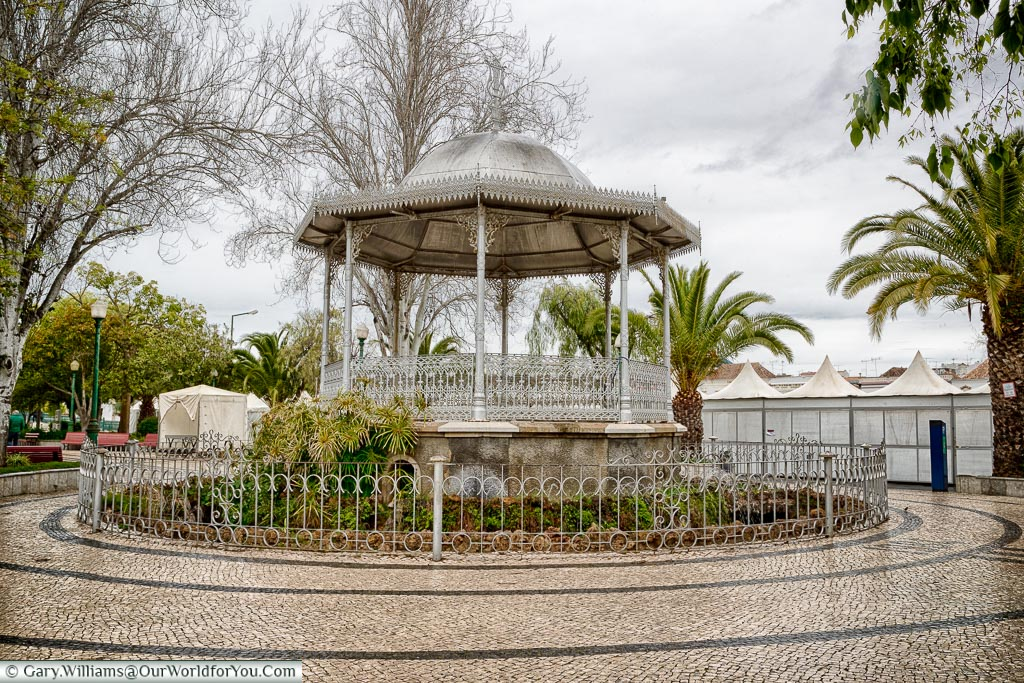 The bandstand at Tavira, Algarve, Portugal