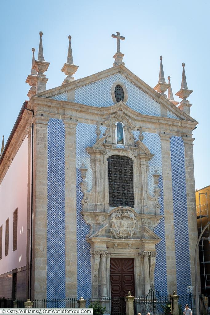 Church of St Nicholas, Porto, Portugal