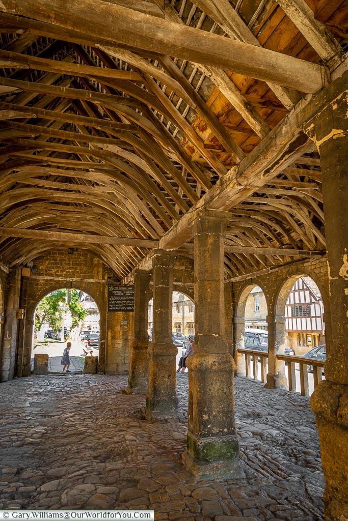 Market hall, Chipping Campden, Gloucestershire, England, UK