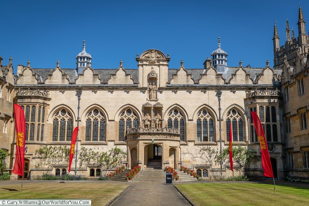 Oriel College, Oxford, England, UK